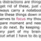 Wie fokussieren Sie sich richtig?